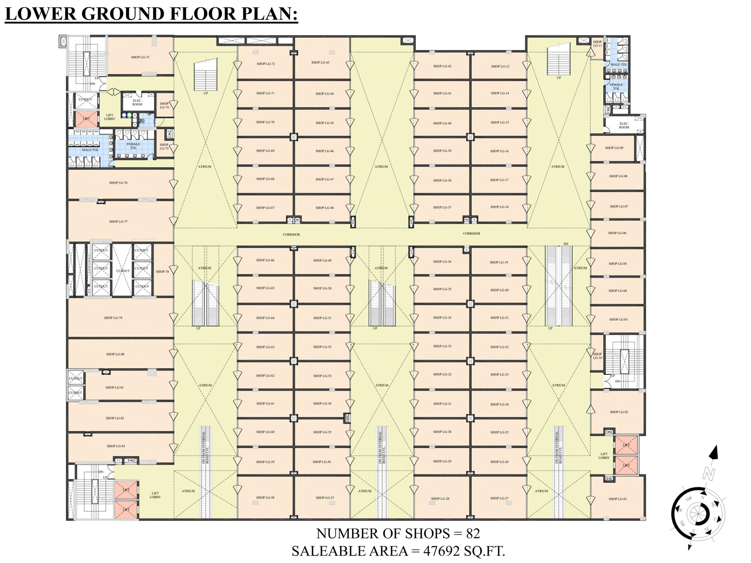 ATS Kabana High floor plan