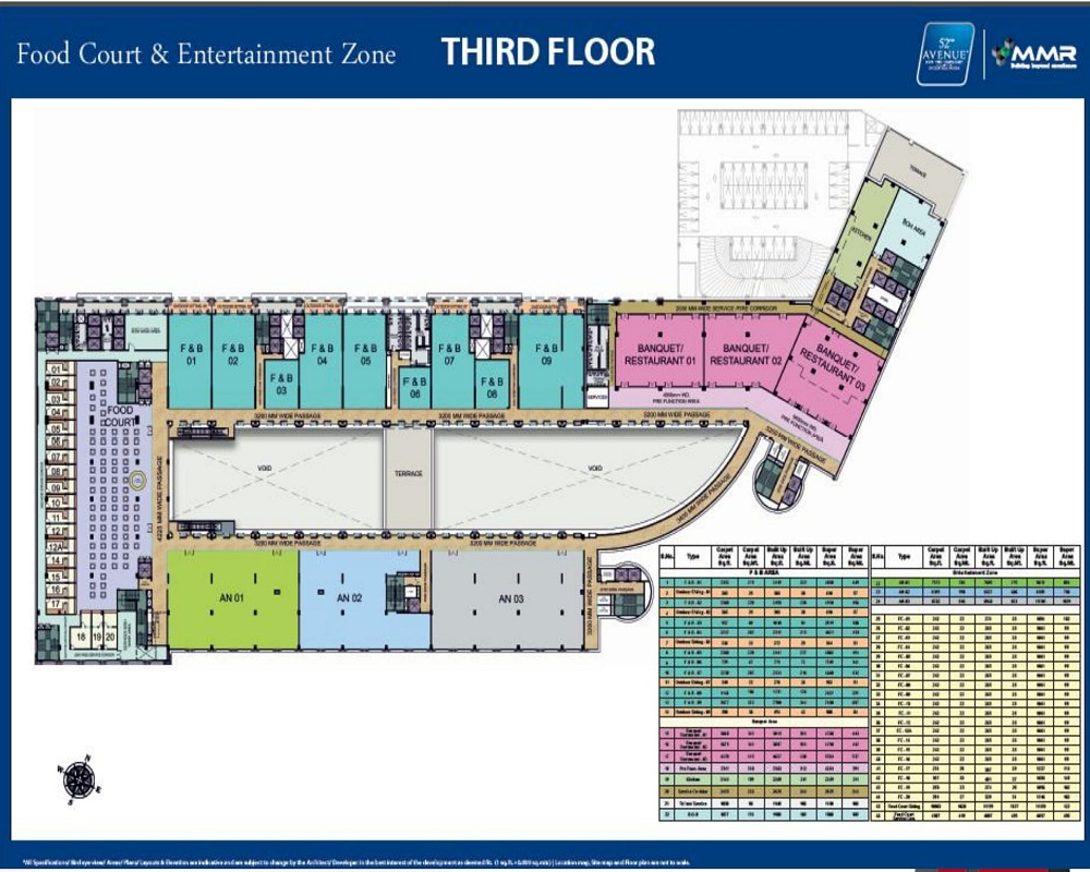 MMR 52nd avenue third floor plan
